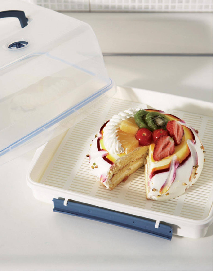Lock & Lock Cake Box 12.6L Incl Freshness Tray