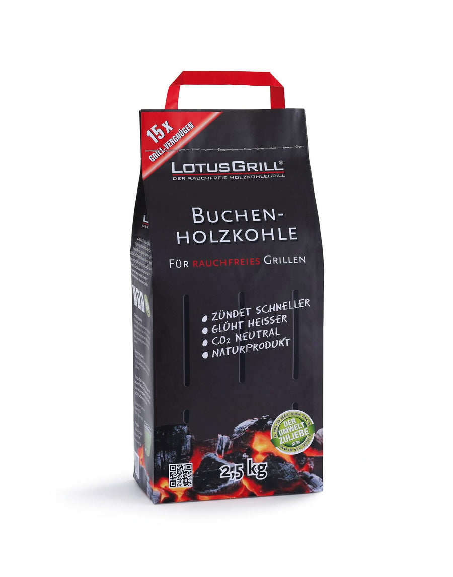 LotusGrill Beech Charcoal