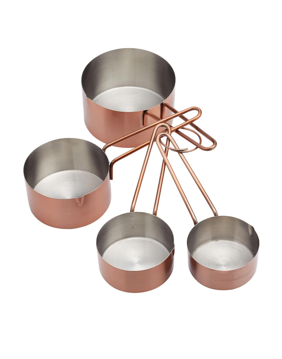 Copper Effect Measuring Cups