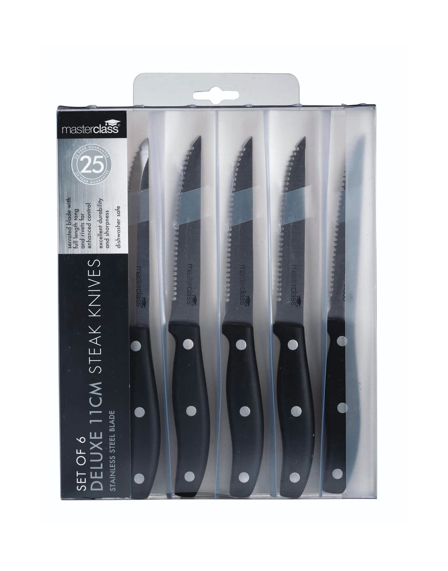 Steak Knives Set of Six