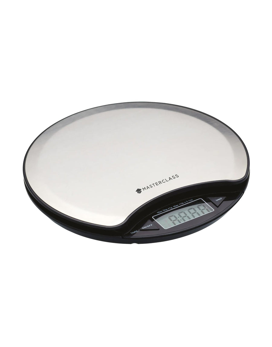 MasterClass Electronic Dry and Liquid 5Kg Round Scales