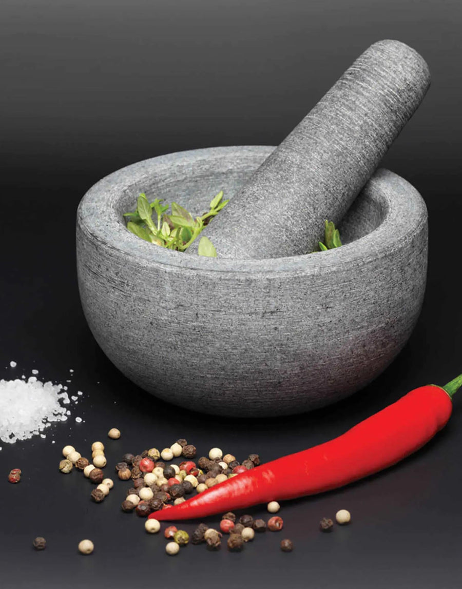 MasterClass Granite Mortar and Pestle 12cm x 6.5cm