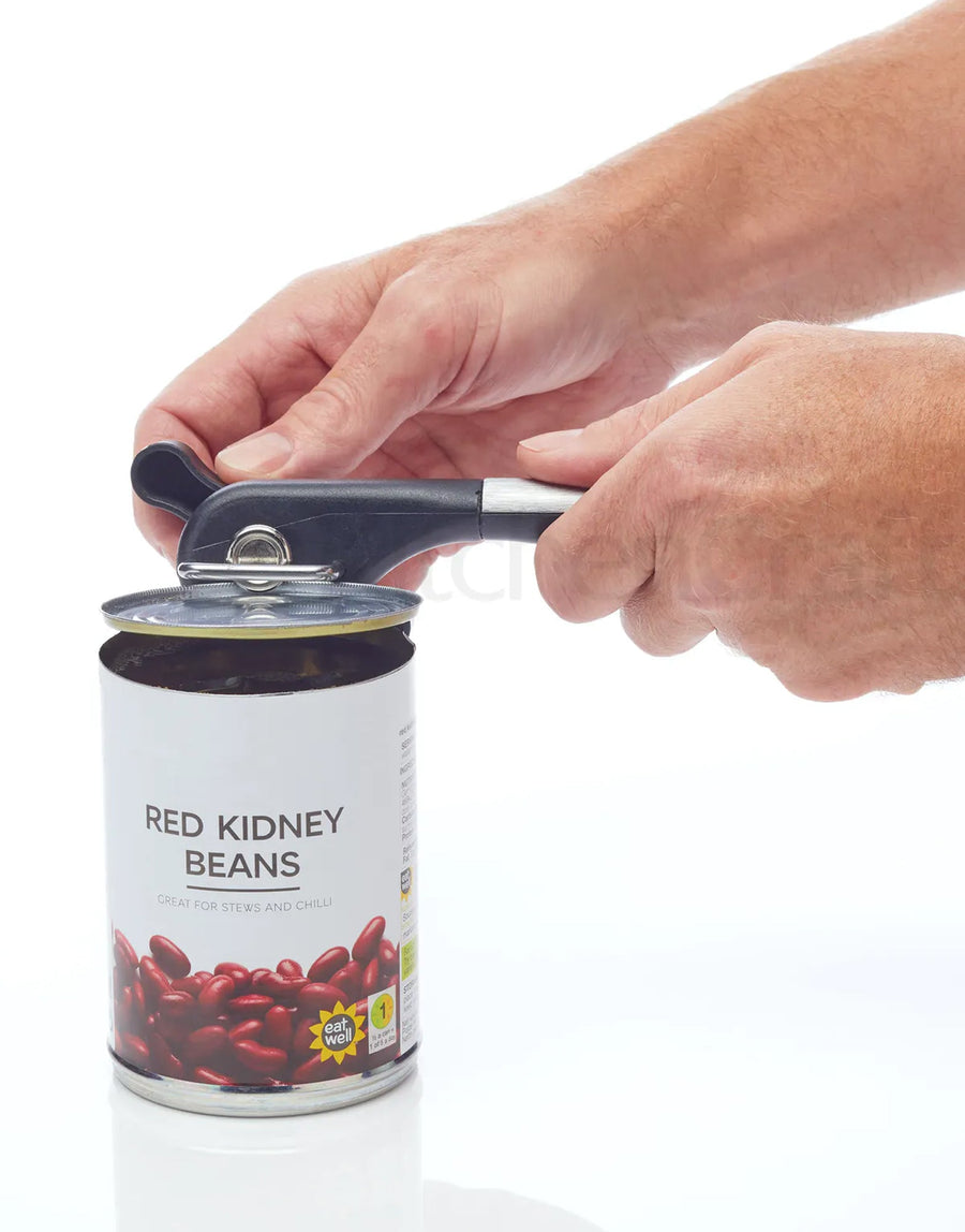 MasterClass Stainless Steel Safe Cut Can Opener