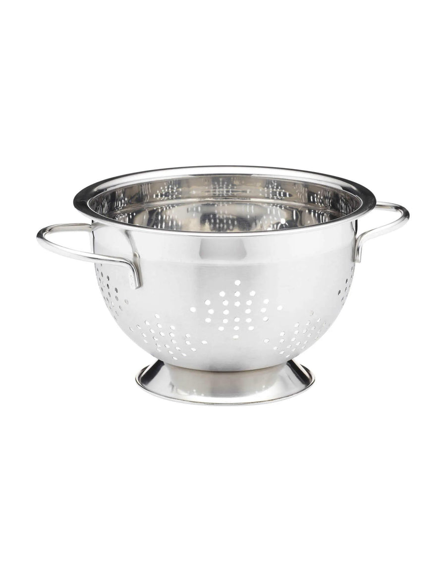MasterClass Two Handled Colander 23cm with Satin Finish