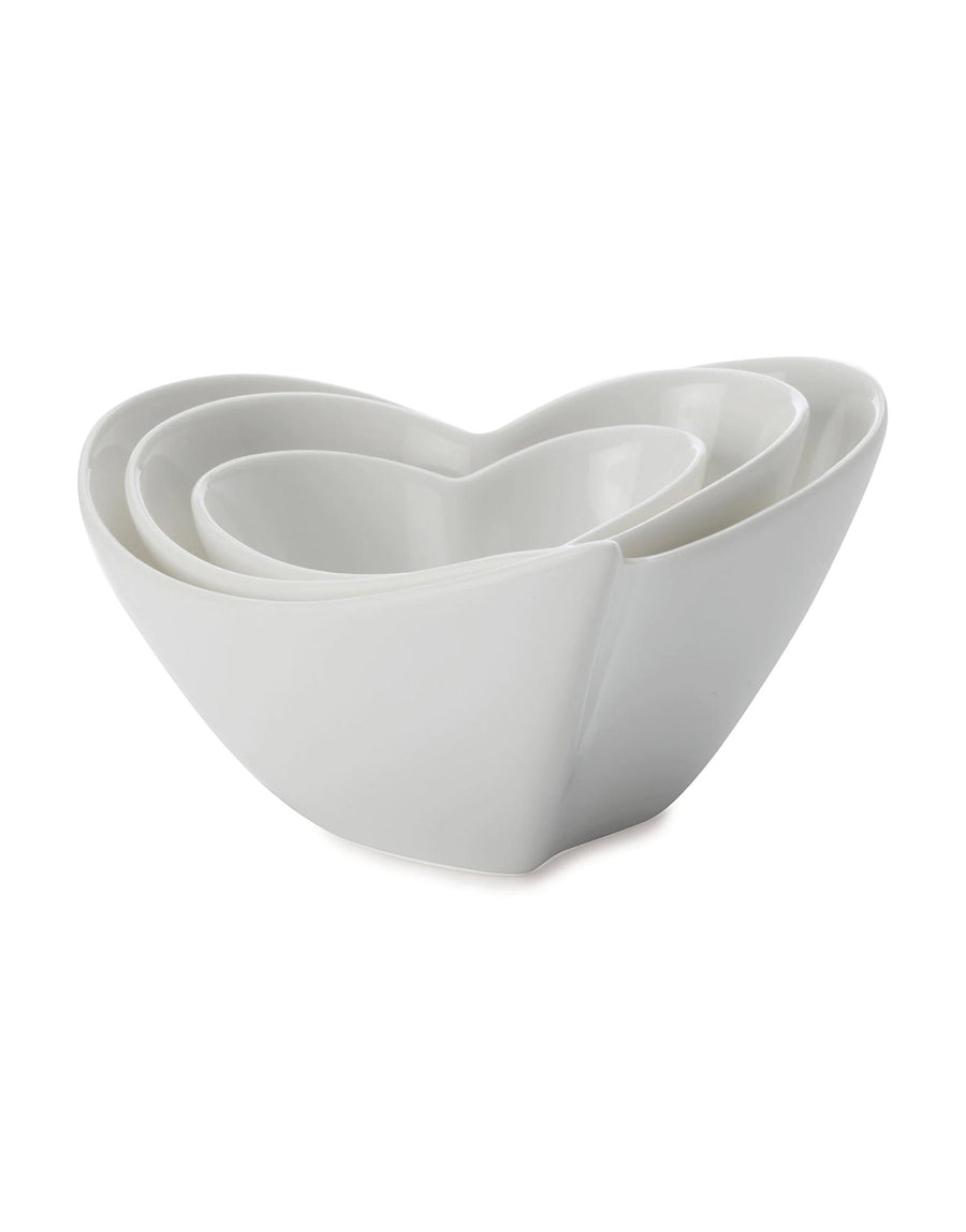 Maxwell and Williams Heart Sauce & Dip Set of 3