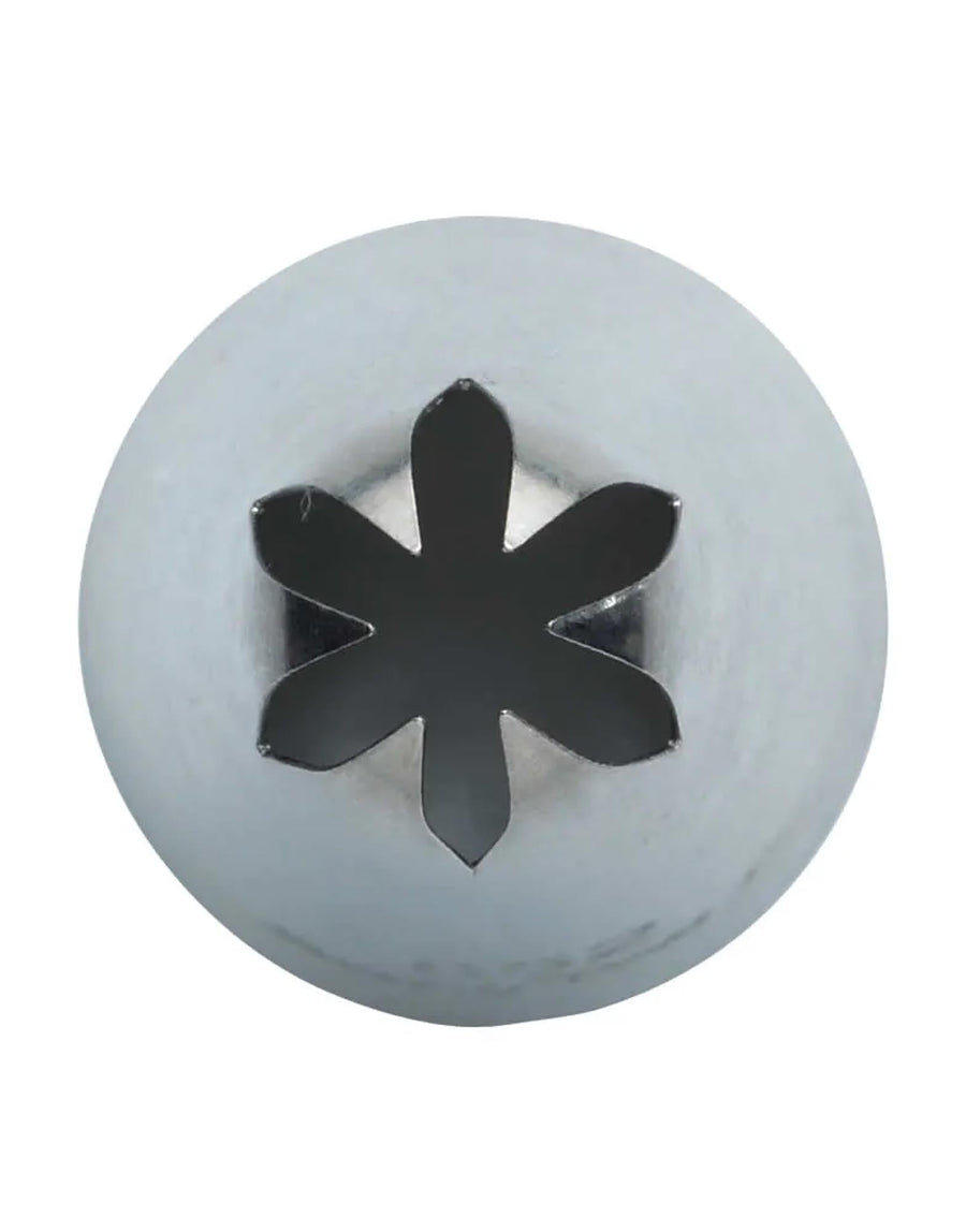 Medium Icing Nozzle Closed Star 4mm