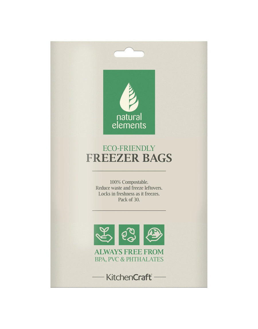 Eco-friendly Food and Freezer Bags