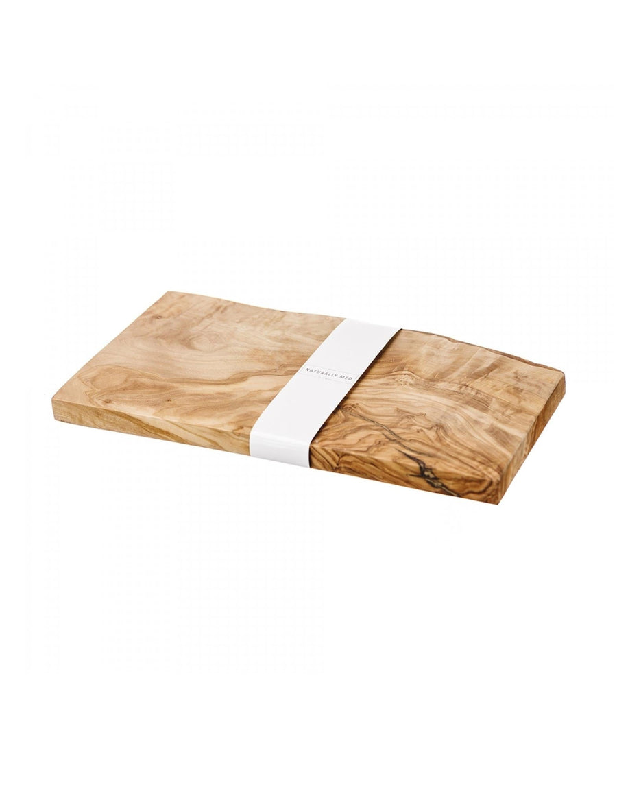 Naturally Med Small Rustic Rectangular Chopping Board
