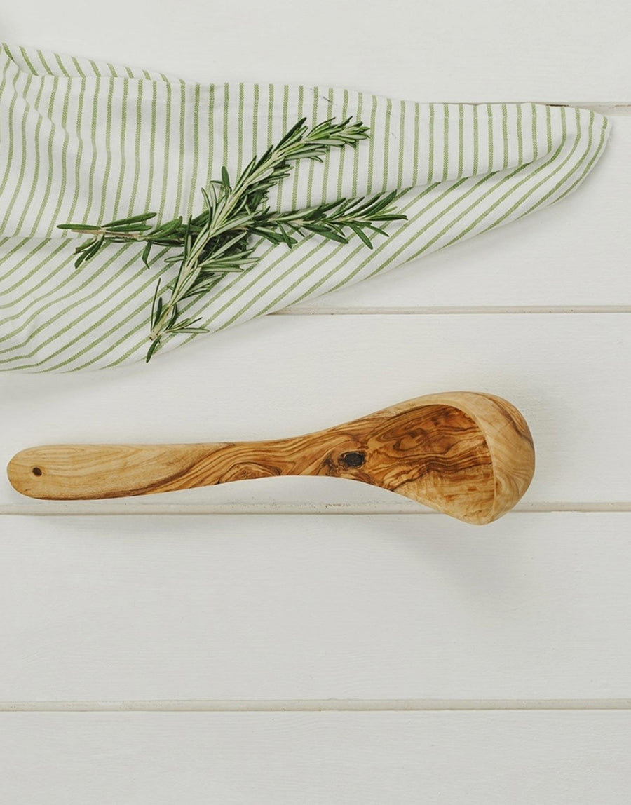 Naturally Med Olive Wood Ladle