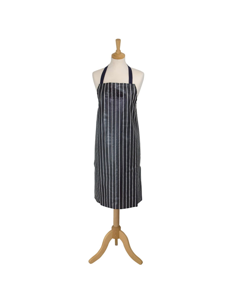 Now Designs Printed Butchers Stripe Navy Apron