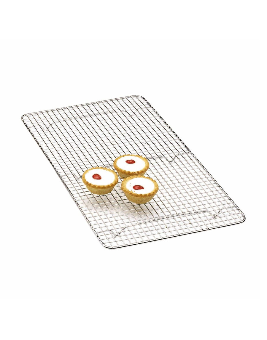 Oblong Chrome Plated Cake Cooling Tray