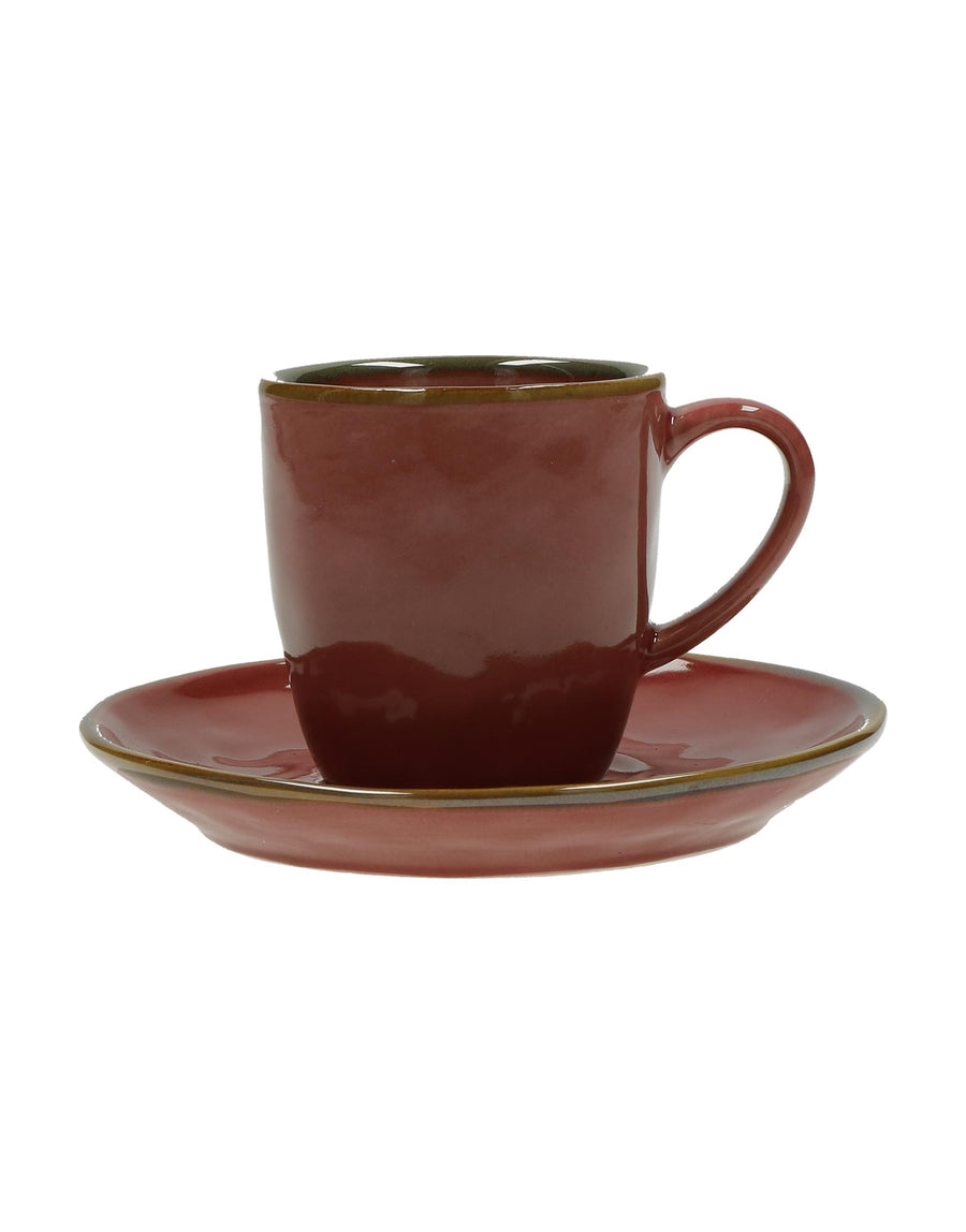 Rose & Tulipani Espresso Cup and Saucer