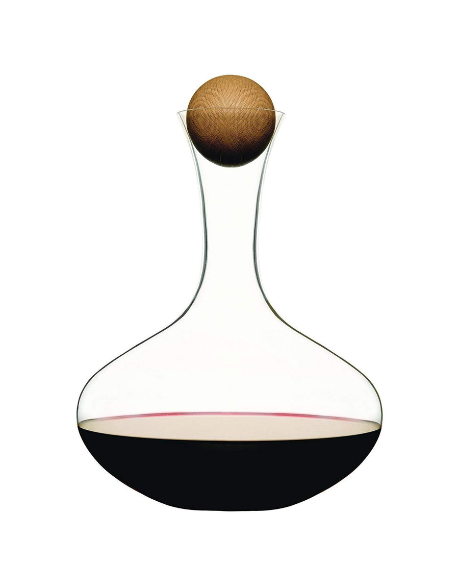 Sagaform Wine Carafe with Oak Stopper