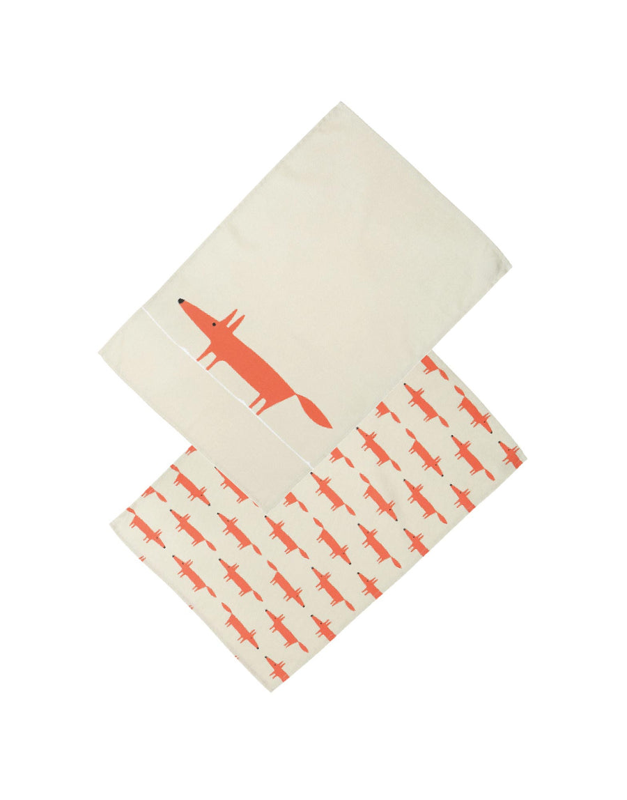 Scion Mr Fox Tea Towels