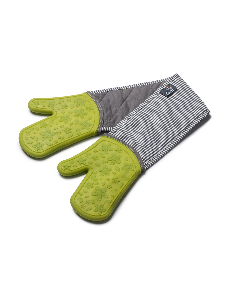 Silicone & Fabric Double Oven Gloves
