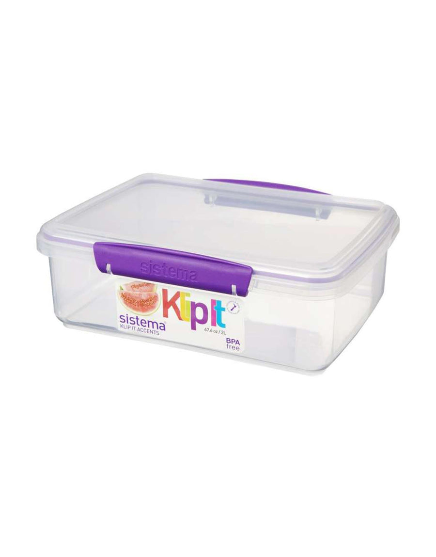 Sistema Rectangular Tub 2L