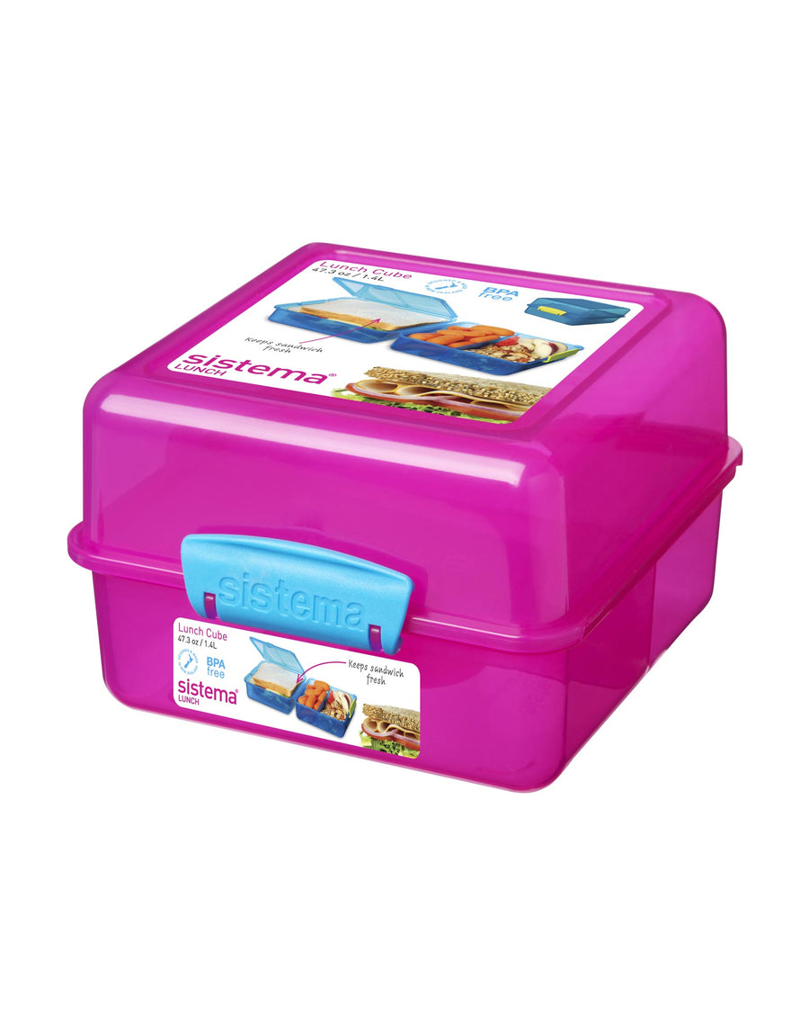 Sistema Lunch Cube Various Colours