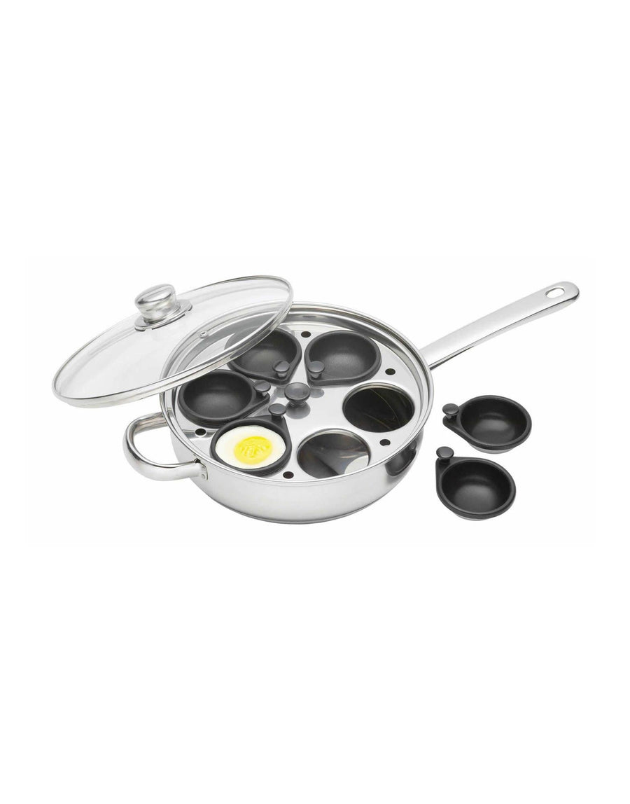 Six Hole Egg Poacher