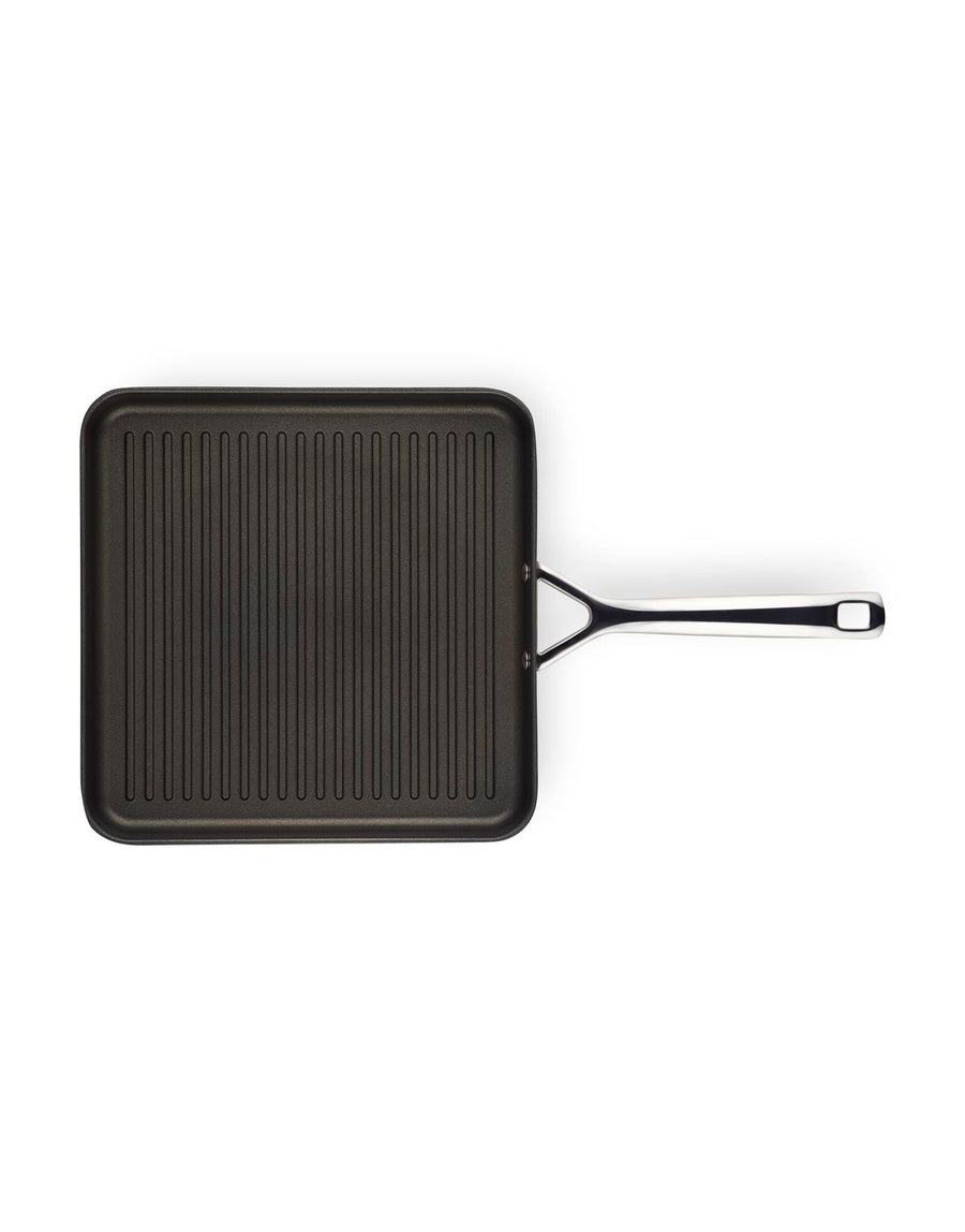 Le Creuset TNS 28cm Square Grill with Long Handle