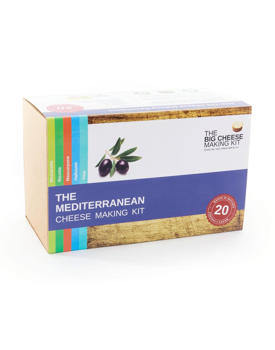 The Big Cheese Making Kit The Mediterranean Cheese Making Kit
