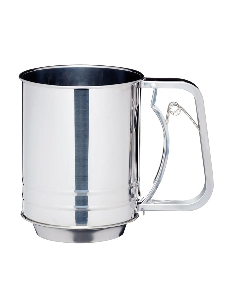 Three Cup Trigger Action Flour Sifter