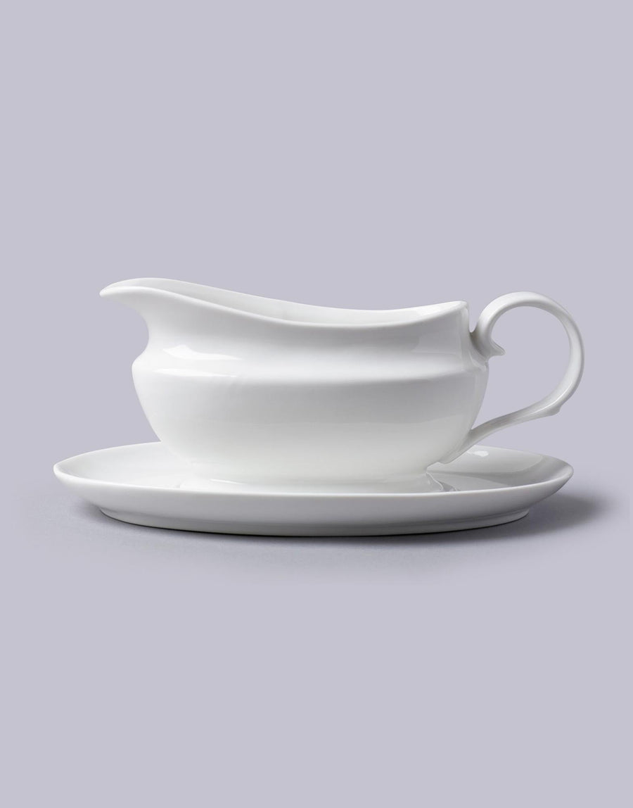Traditional Gravy Boat with Saucer 500ml