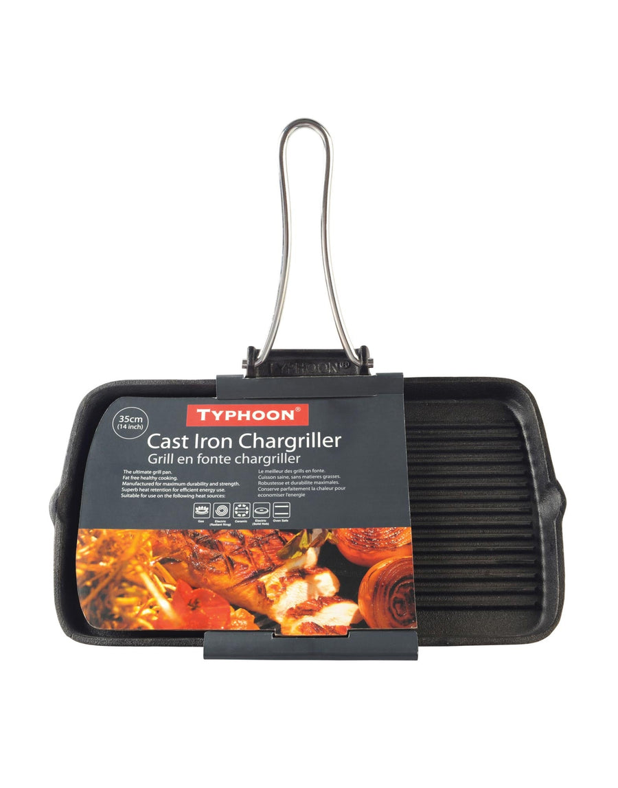 Typhoon Folding Handle Rectangle Chargriller