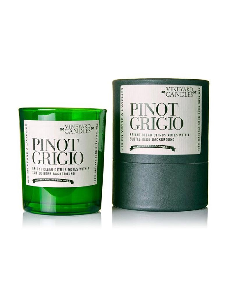 Vineyard Candles Pinot Grigio Shot