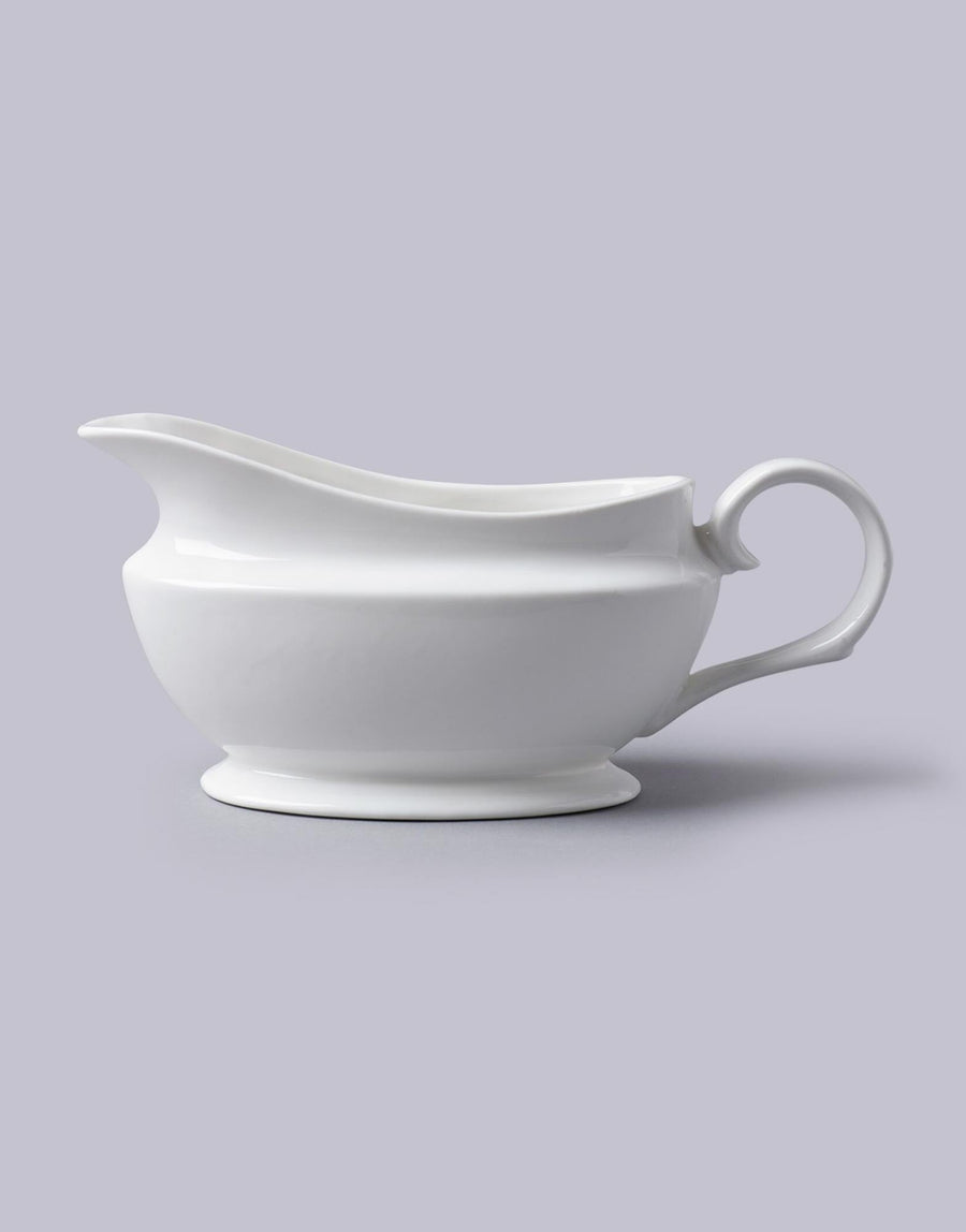 White Gravy Boat 500ml