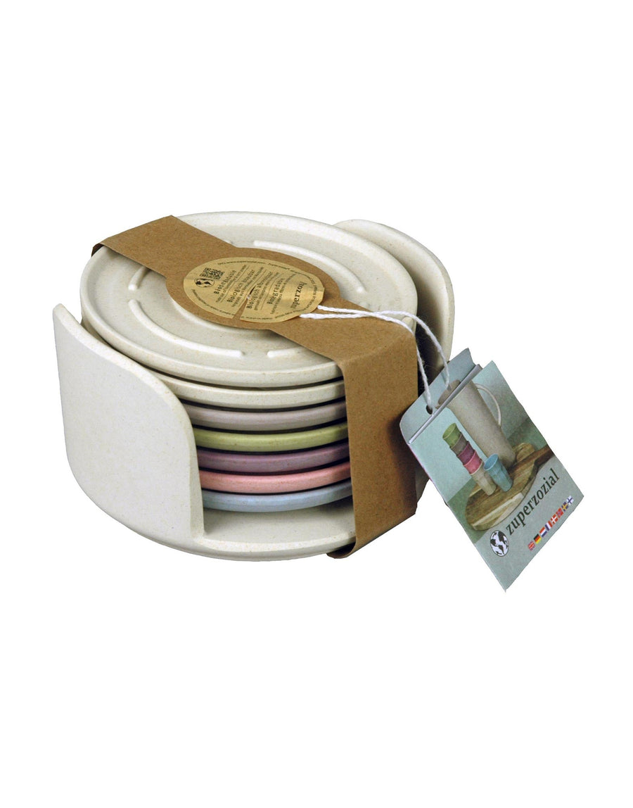 ZuperZozial Coaster Set of 7 Dawn
