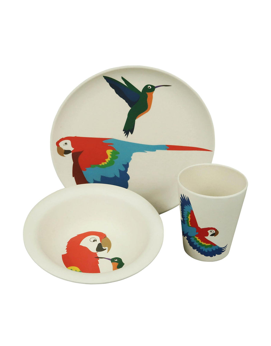 ZuperZozial Hungry Parrot Set