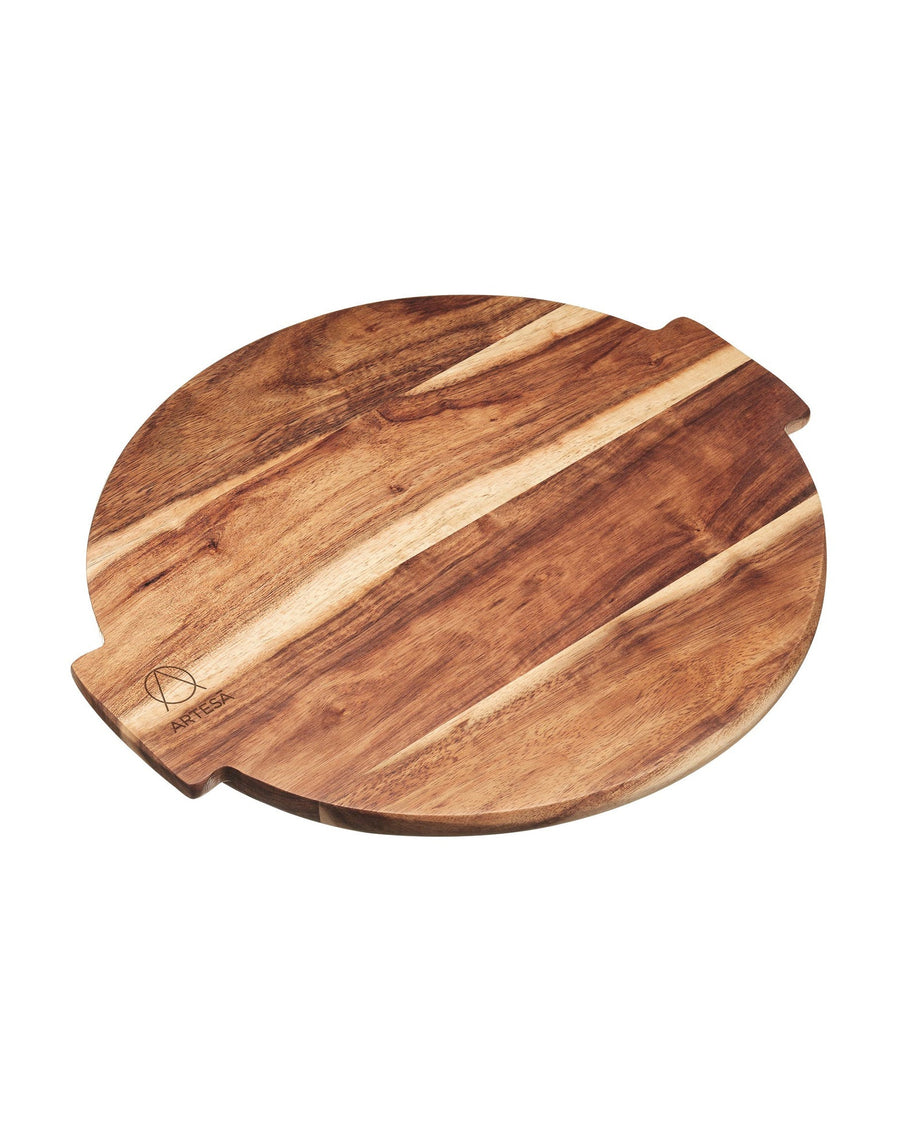 Artesà Acacia Wood Lazy Susan Serving Platter
