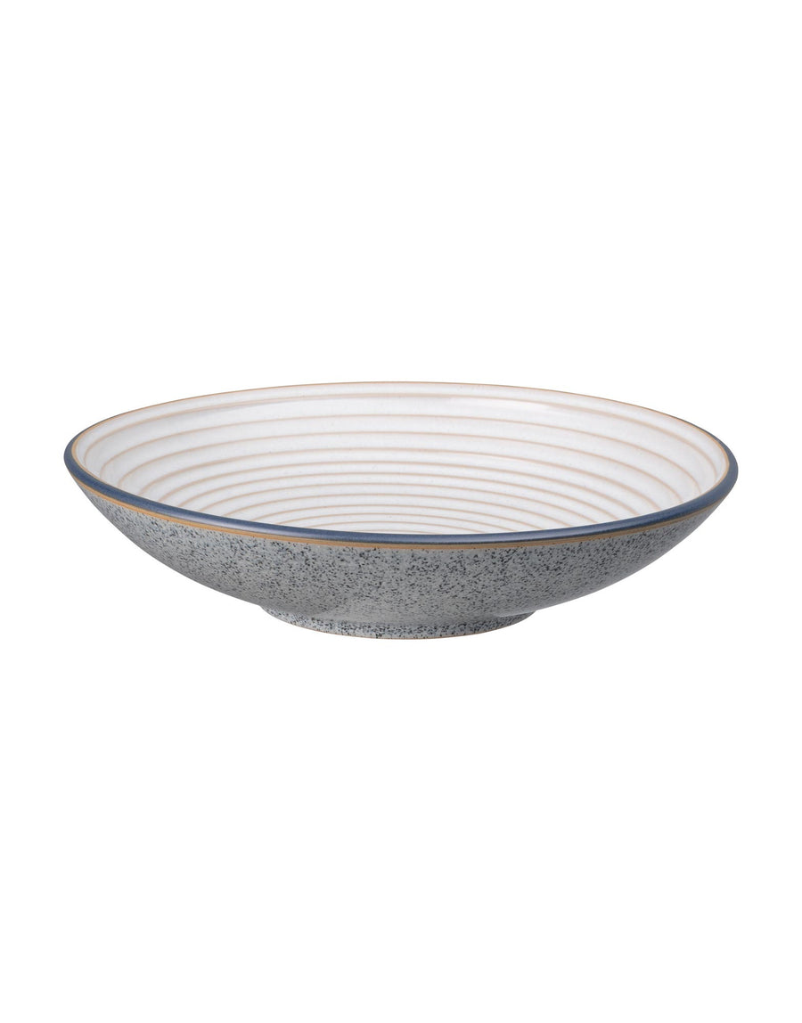 Denby Studio Grey Large Ridged Bowl