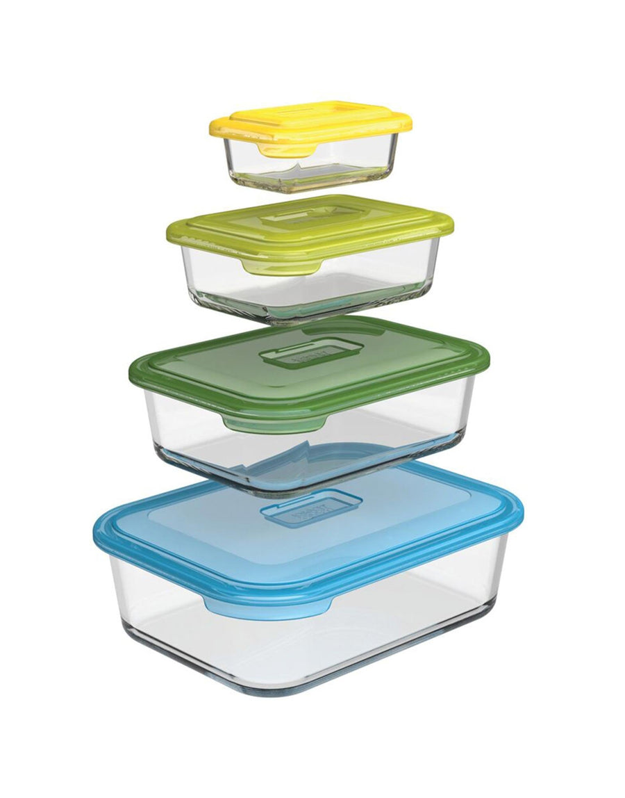 Joseph Joseph Nest Glass Storage 4-piece set