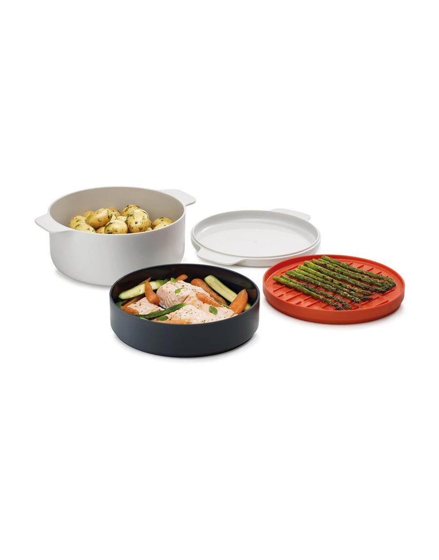 Joseph Joseph M-Cuisine 4-Piece Stack Microwave Cooking Set