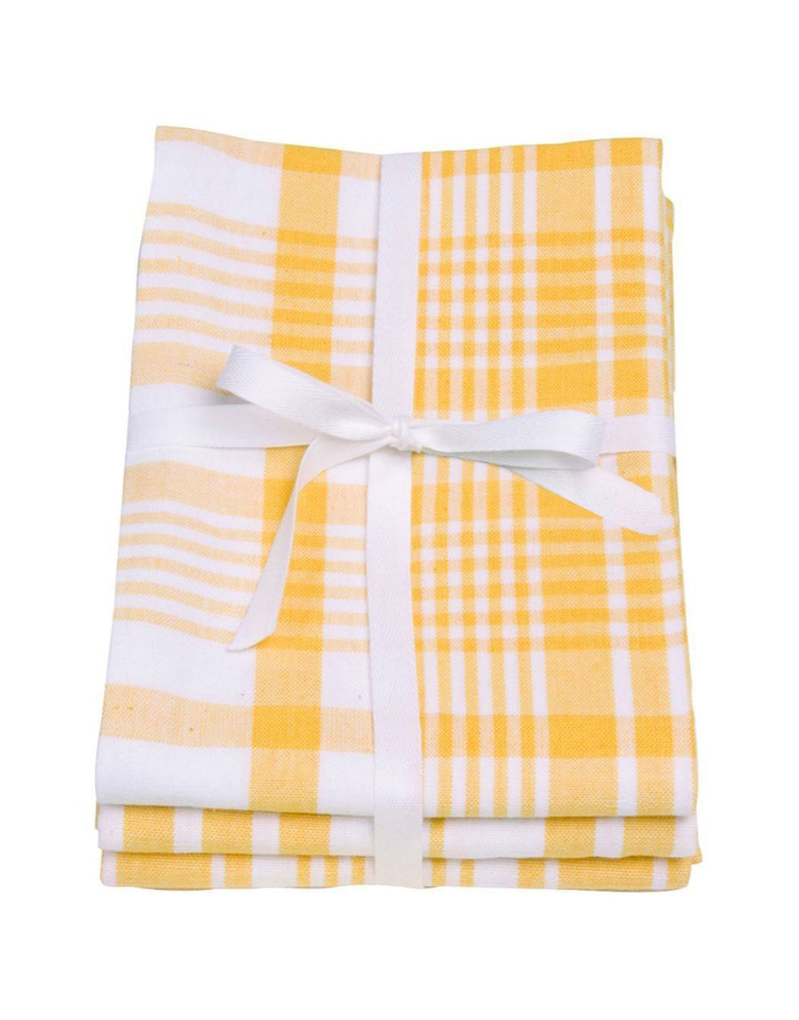 Love Colour Set Of 3 Extra Large Tea Towels