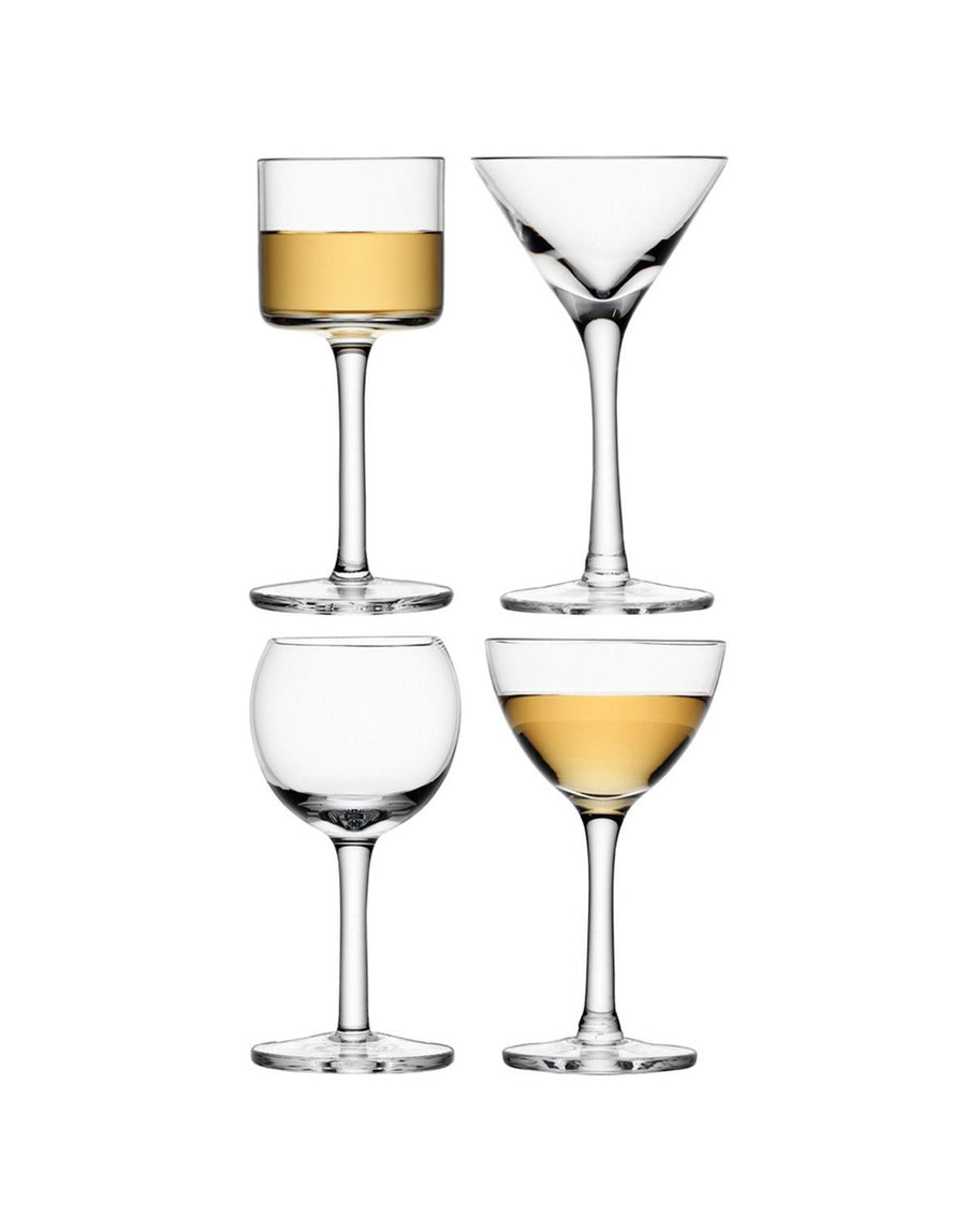 LSA Lulu Liqueur Glass Set 50-54ml