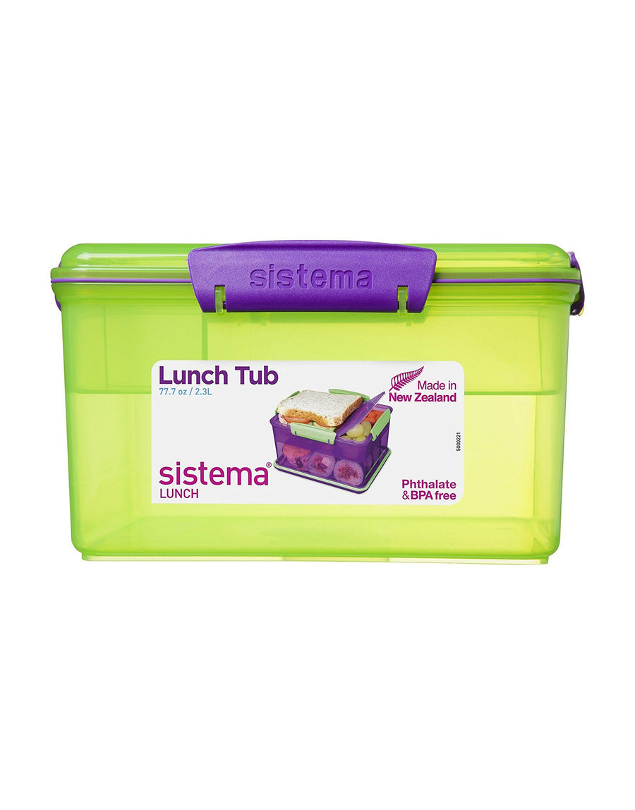 Sistema Lunch Tub with Tray