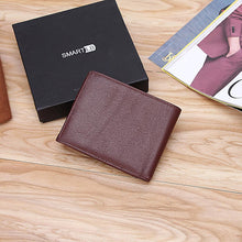 Load image into Gallery viewer, Smart Leather Wallet