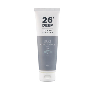 26' Deep Men's Facial Moisturiser with Kelp Complex +