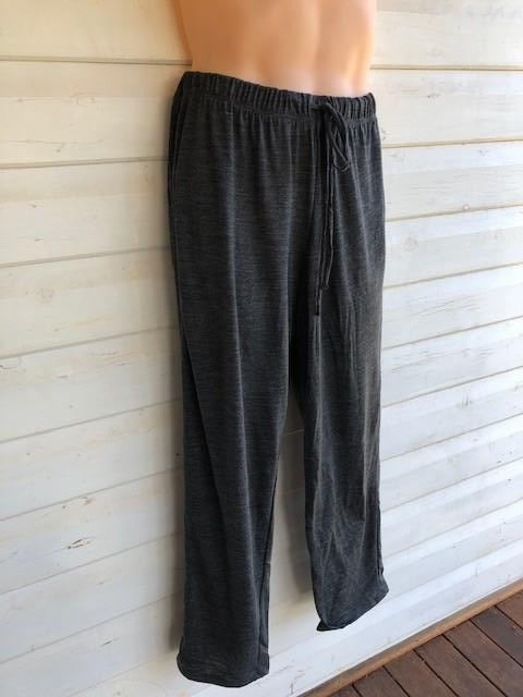 Unisex Sleep Pants | 100% Merino Wool Charcoal