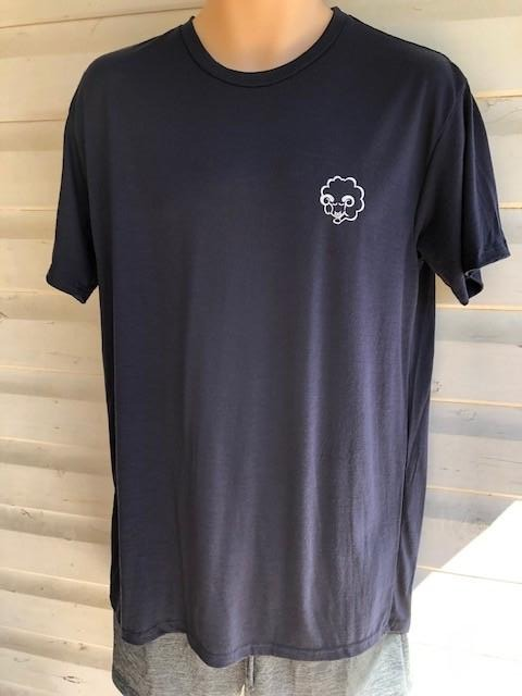 Men's Short Sleeve Tee | 100% Merino Wool Navy