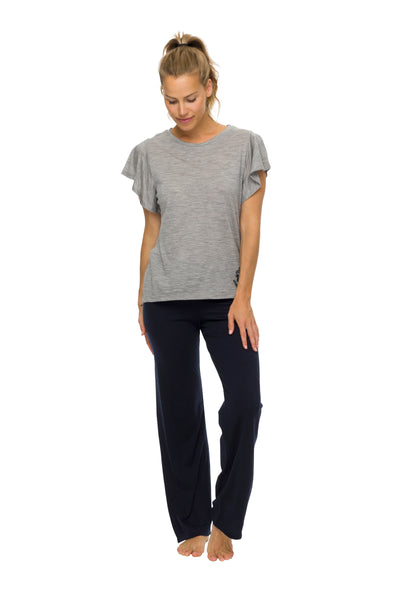 Women's Sleep Pants | 100% Merino Wool Navy
