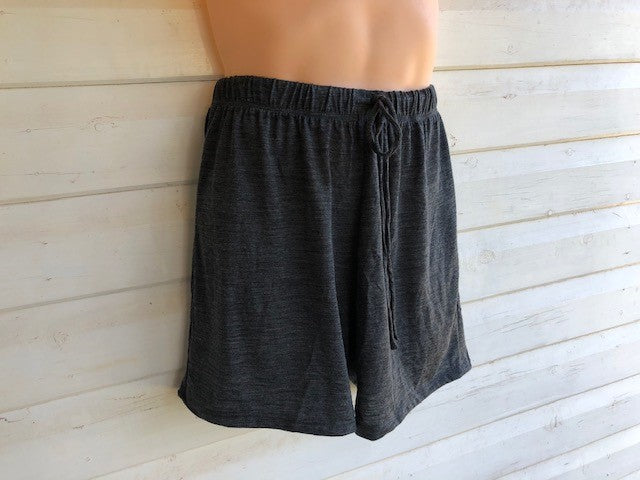 Men's Sleep Shorts | 100% Merino Wool Charcoal