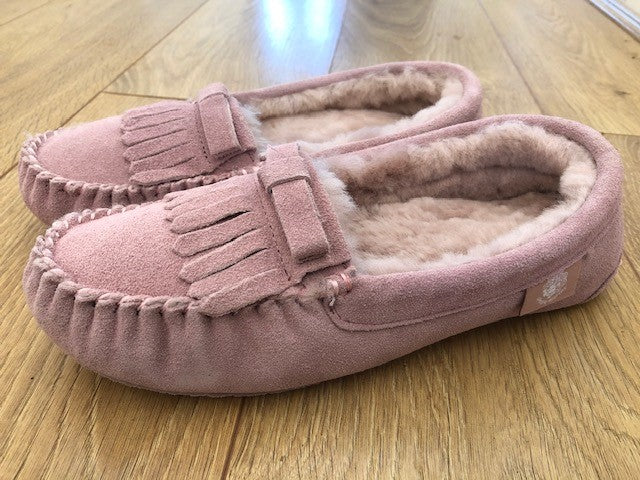 pink moccasin
