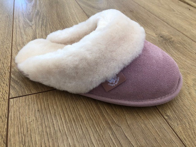 Pink slipper Australian Sheepskin-Ladies