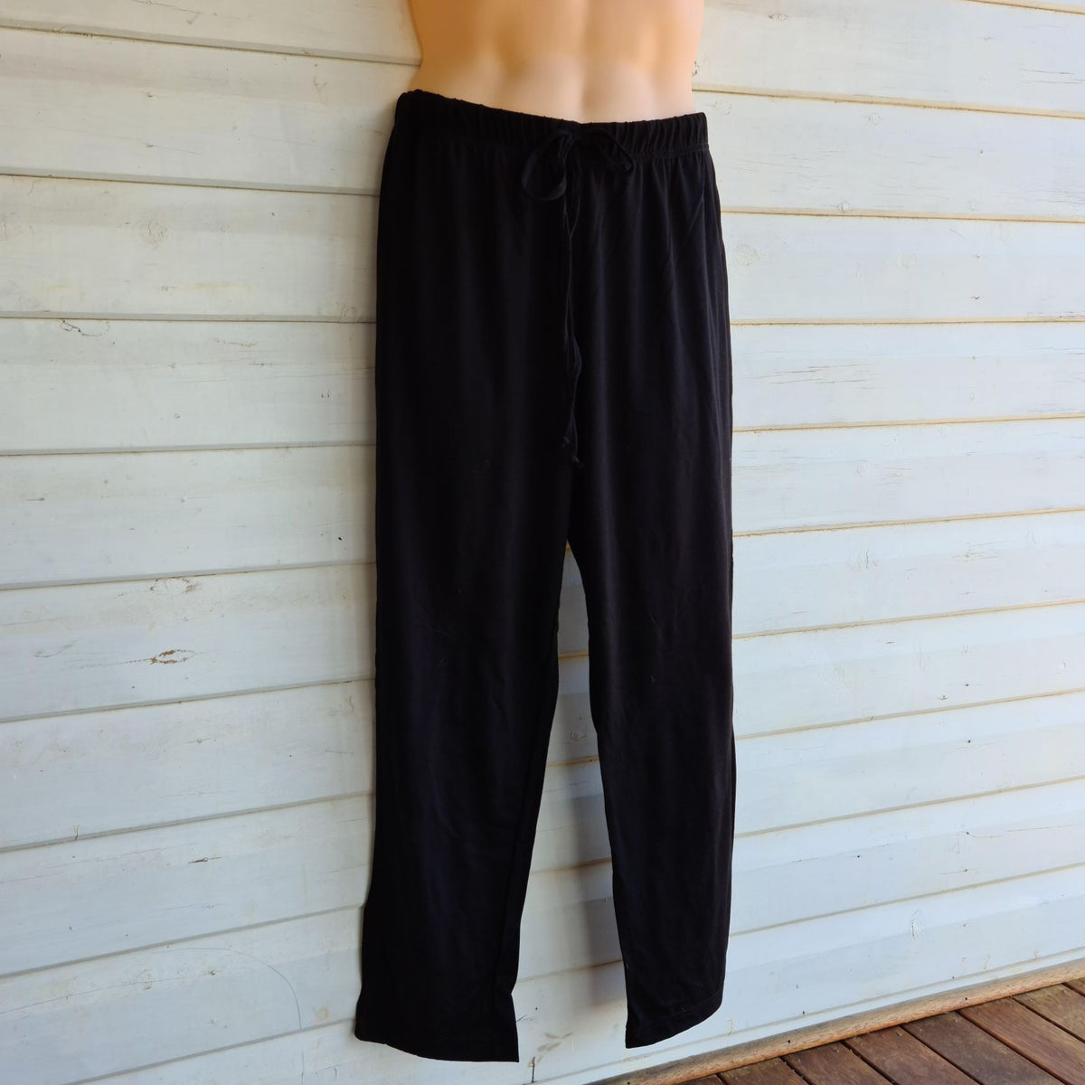 Unisex Sleep Pants | 100% Merino Wool Black