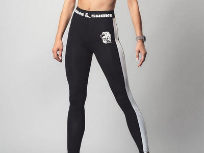 B&W Leggings | Wake&Shake Athletics