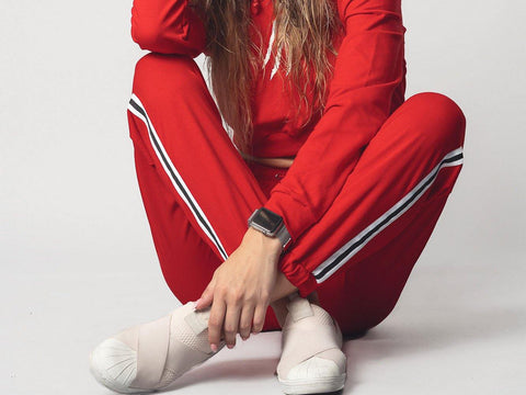Red TrackSuit | Wake&Shake Athletics