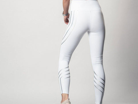 White Leggings | Wake&Shake Athletics